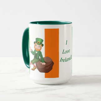 Caneca Eu amo Ireland