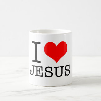 caneca EU AMO JESUS