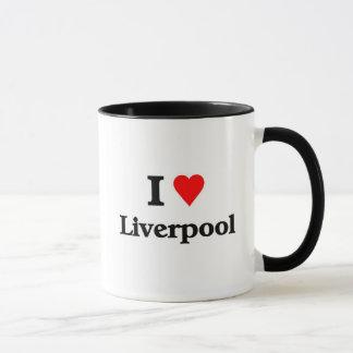 Caneca Eu amo liverpool