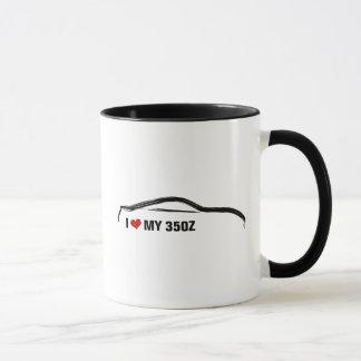 Caneca Eu amo meu 350Z