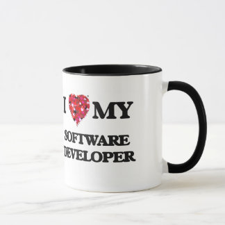 Caneca Eu amo meu programador de software