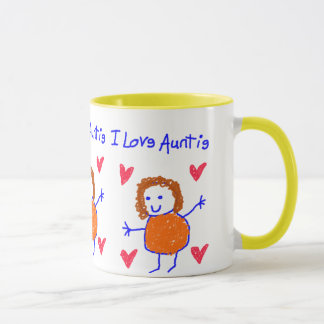 Caneca Eu amo o Auntie