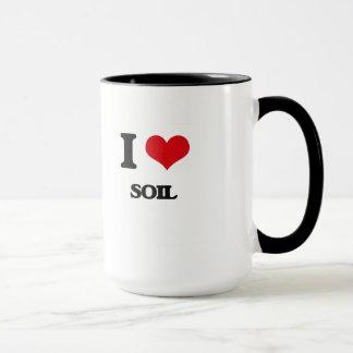 Caneca Eu amo o solo