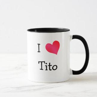 Caneca Eu amo Tito