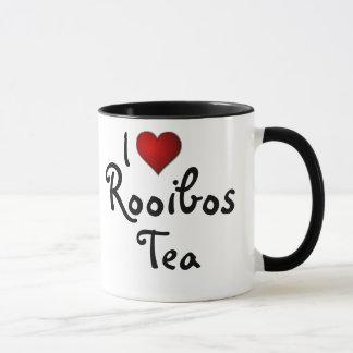 Caneca Eu (coração) amo o chá de Rooibos