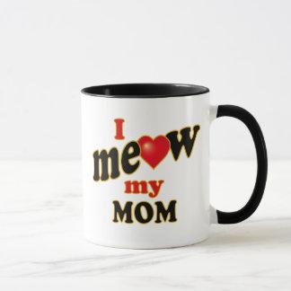 Caneca Eu Meow minha mamã