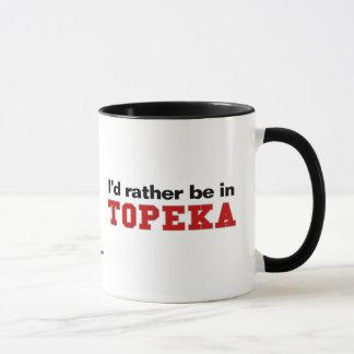 Caneca Eu preferencialmente estaria no Topeka