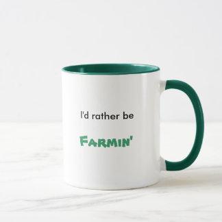Caneca Eu preferencialmente seria, Farmin
