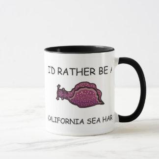 Caneca Eu preferencialmente seria uma lebre de mar de