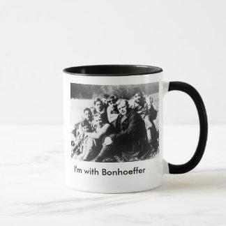 Caneca Eu sou com Bonhoeffer