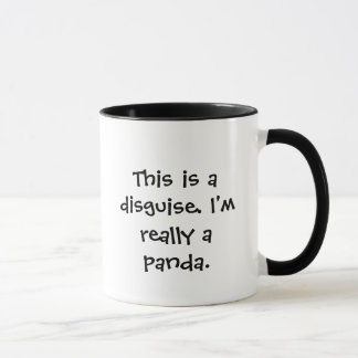 Caneca Eu sou uma panda