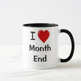 Caneca Extremidade de mês engraçada das citações da
