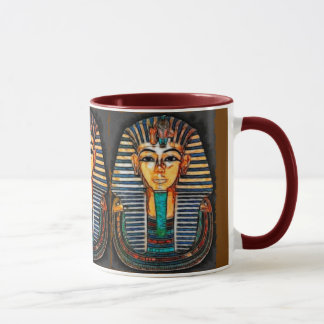 Caneca Faraó egípcio antigo Tutankhamen