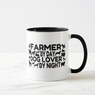Caneca Fazendeiro do amante do cão
