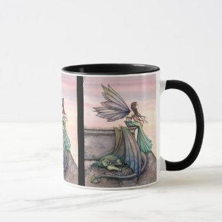 Caneca feericamente Enchanted do dragão do