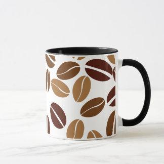 Caneca Feijão de café - interior branco clássico da