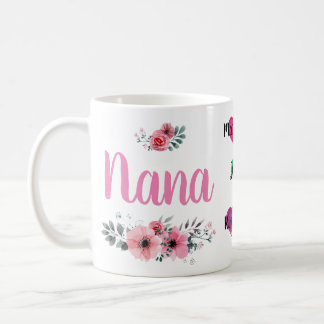 Caneca feita sob encomenda de Nana com nomes de