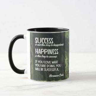 Caneca Felicidade a chave ao sucesso