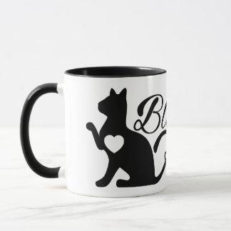 Caneca Felicidade e gatinhos de Oracle dos gatos da