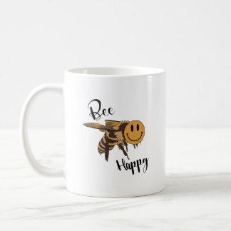 Caneca feliz da abelha