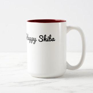 Caneca feliz de Shiba