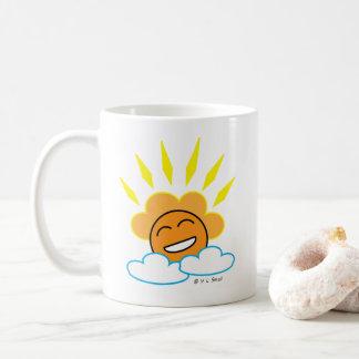 Caneca feliz de Sun