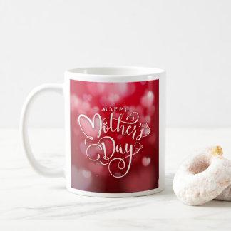 Caneca feliz do amor do dia das mães