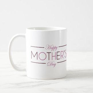 Caneca feliz do dia das mães