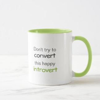 Caneca Feliz Introvert