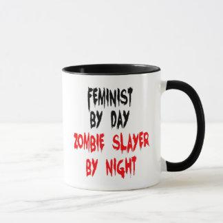 Caneca Feminista do assassino do zombi