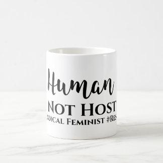 Caneca feminista #Radical do #Resist do anfitrião