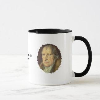 Caneca Filósofo Georg Hegel