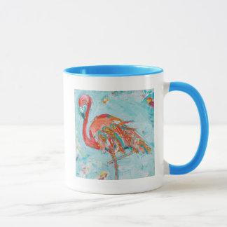 Caneca Flamingo brilhante