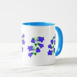 Caneca Flor colorida abstrata do Bluebell do vetor