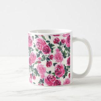 caneca floral bonito