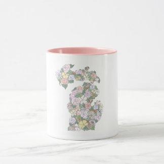 Caneca floral de Michigan