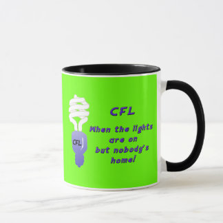 Caneca fluorescente compacta das ampolas (CFL)