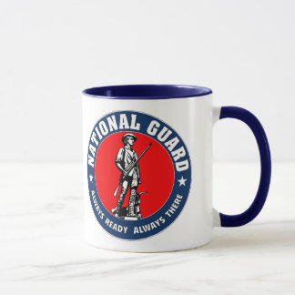Caneca Forças armadas do logotipo da guarda nacional do