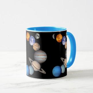 Caneca Fotos do planeta do montagem JPL do sistema solar
