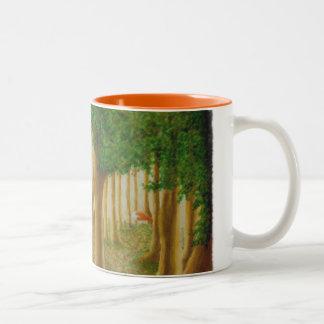 Caneca Foxy da floresta