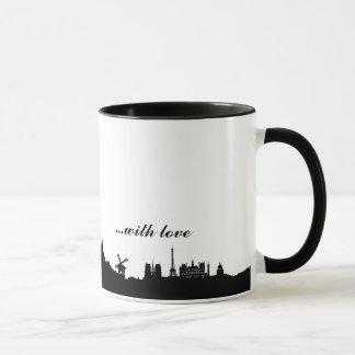 Caneca From Paris with love Mug