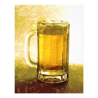 Caneca Frothy de cerveja Panfleto Personalizado