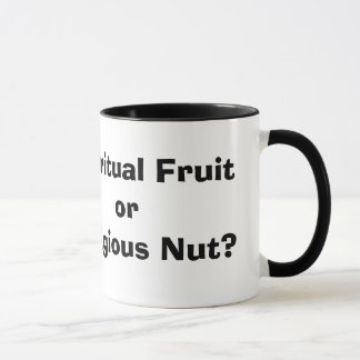Caneca Fruta espiritual ou porca religiosa?