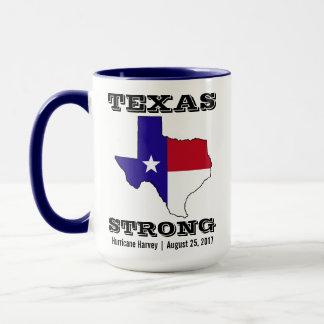 Caneca Furacão Harvey Texas forte