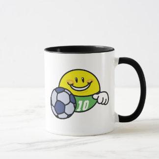 Caneca Futebol do smiley
