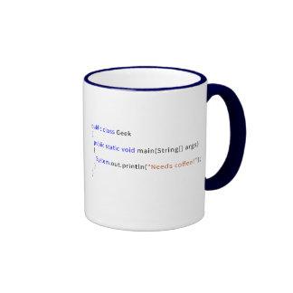 Caneca Geeky de Java para Devs