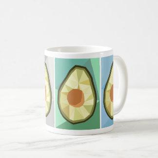 Caneca geométrica dos abacates
