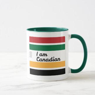 Caneca geral canadense tradicional da campainha