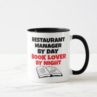 Caneca Gerente do restaurante do amante de livro