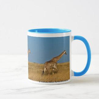 Caneca Girafas em Etosha NP